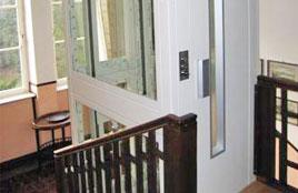 Accessibilité dans des bâtiments avec d'espace limité
